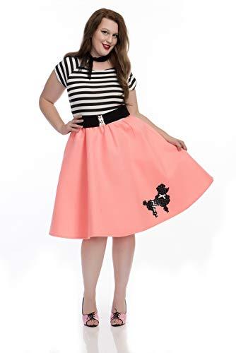 Charades Women's Plus Size Poodle Dress, Bubble