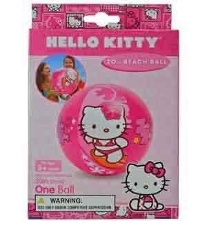 Hello Kitty Beach Ball 20 Inch [3 Retail Unit(s) Pack] - 58026EP