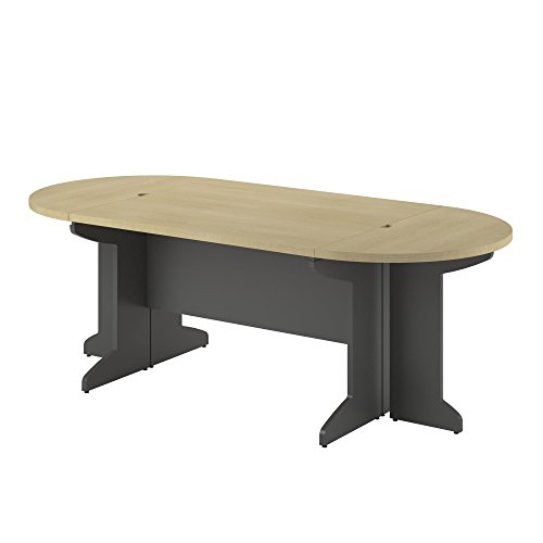 Ameriwood Home Pursuit Small Conference Table Bundle, Natural by Altra Furniture