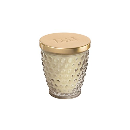The Jay Companies Hobnail 8 Ounce Glass Jar Candle, Clear ()