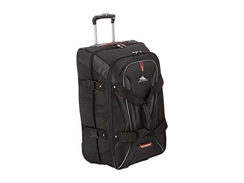 (High Sierra 57019-1041 AT7 Rolling Upright Duffel Bag, Black,)