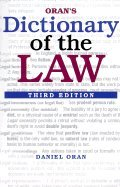 Oran`s Dictionary of the Law 3rd EDITION