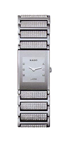 ساعت مچی زنانه خودکار Rado مدل Integral Jubile Ceramic Sapphire Crystal Diamonds on Dial Quartz کد R20747719