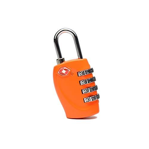 Kalmar Lock, Mini Padlock Password Lock Luggage, Locker Customs Certification Password Lock, Gray, Black, 67 Mm 32 Mm 12mm High Security Lock Best for Bicycle Outdoors