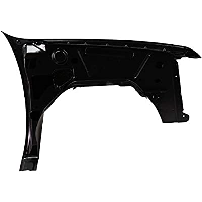 Front Fender Compatible with 2007-2013 Chevrolet Silverado 1500 Driver Side: Automotive