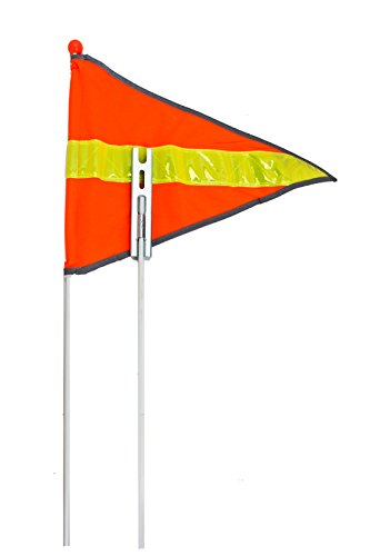 "Sunlite Safety Flag, 72""/ 2 Piece"