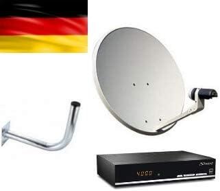 Kit de Receptor y Antena parabólica para Canales alemanes