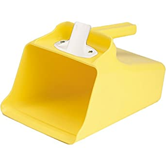 128 oz Remco 65506 Yellow Polypropylene Injection Molded Color-Coded Bowl Mega Scoop 1 Piece