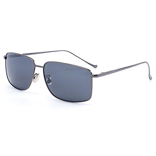 Polarizador Color Negro GYYTYJ SSSX conducción anti de Gafas de caballero de Gafas UV de Color sol Gun Gafas sol de pesca YTTqrg