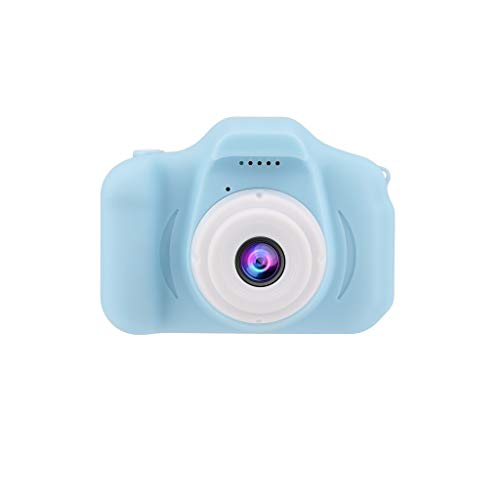Kids Camera,Tacameng Brand New and High Quality Children's Digital Camera 2.0 LCD Mini Camera HD 1080P Children's Sports Camera,Shockproof Gaming CameraSmall and Lightweight, Very Easy to Carry(Blue)