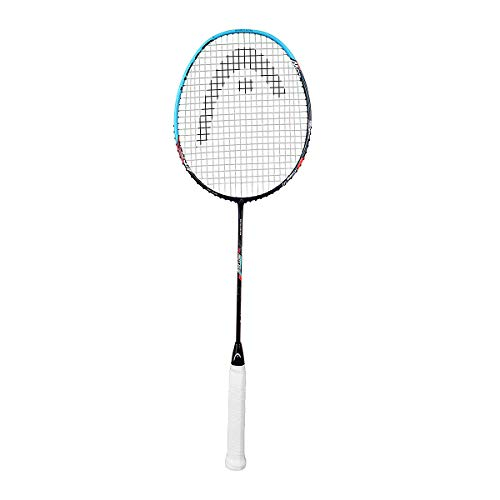 HEAD Airflow 9000 HM Graphite Badminton Racquets  Strung  | Light as Air : 79 gm | G4