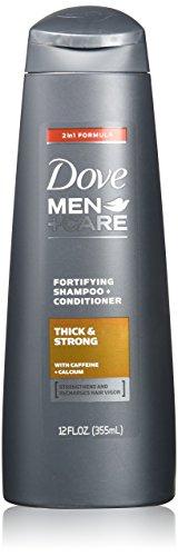 Dove Men+Care 2 in 1 Shampoo and Conditioner, Thick and Stro