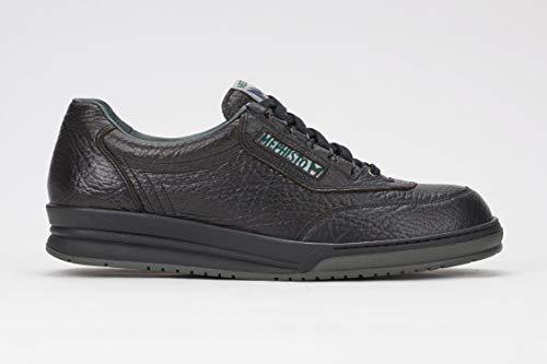 Mephisto Men's Match Oxfords Shoes, 8 D(M) US, Black Grain
