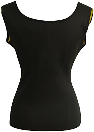Women's Hot Sweat Slimming Neoprene Shirt Vest Body Shapers for Weight Loss Fat Burner Tank Top 4