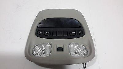 99 00 01 02 03 04 JEEP GRAND CHEROKEE SUN ROOF CONTROL DOME LIGHT GREY GRAY Cherokee 99 00 01 Car