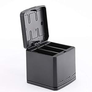 DGBAY for GoPro Hero 8/7/6/5 Multi-Function Battery Charging Dock Storage Charging Box 2in1,for Gopro Hero 8,for Gopro Hero 7/6/5