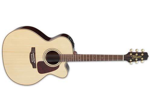 (Takamine Pro Series 5 Jumbo Cutaway Acoustic-Electric Guitar Natural)