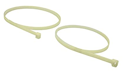 cf39561c4d04 Image Unavailable. Image not available for. Color: Protech 640033 Nylon  Natural Cable/Duct Ties (50 Pack) ...