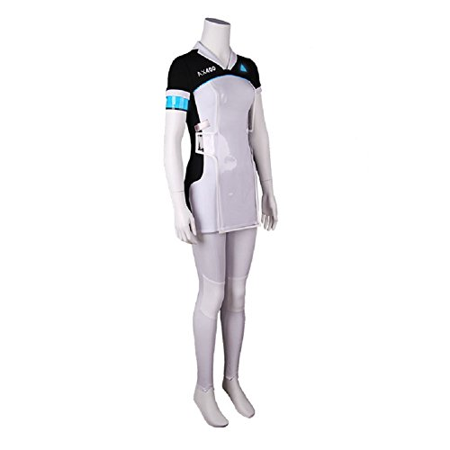 Become Human Kara Cosplay Costume Women T Shirt Dress Pants Uniform Full Set XL by Joyfunny (Image #2)