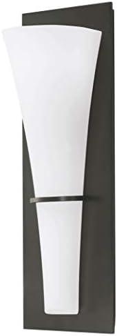 Sea Gull Lighting WB1341ORB Barrington One-Light ADA Wall Sconce Vanity Style Fixture