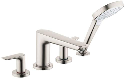 Hansgrohe 71748821 Talis E Tub Filler, Brushed Nickel