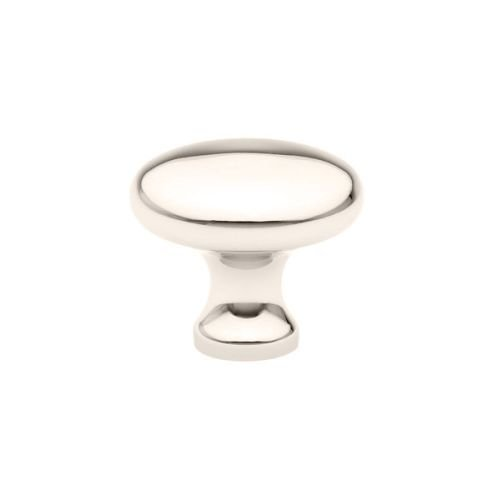Emtek 86013 Providence 1 Inch Diameter Mushroom Cabinet Knob from the American C, Polished Nickel