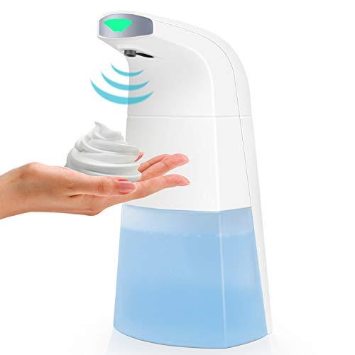 Automatic Soap Dispenser, Touchless Foam Soap Dispenser Sensor Infrared Motion Soap Dispenser IPX4 Waterproof Liquid…