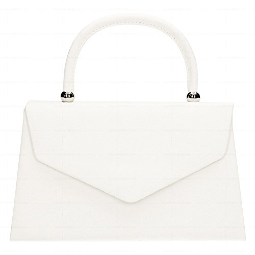Bag Tote Wocharm Bag Bag Clutch Girls Suede White Envelope Velvet Wedding Purse Party Womens Prom qIprwtpT
