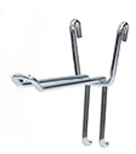 Lot of 100 New Grid Safety Chrome Steel Peg Hooks 6 inch by Peg Hooks (Image #1)