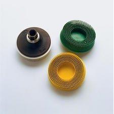 3M 3M-18737 Roloc Bristle Disc Grade - 120, Size - 3