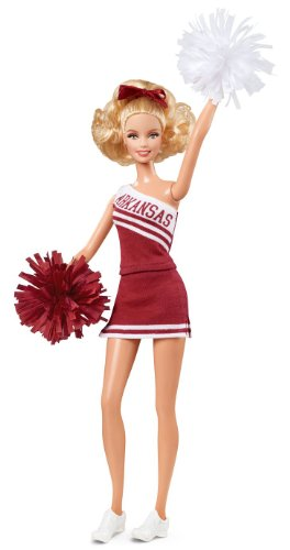 Barbie Collector University of Arkansas Doll -