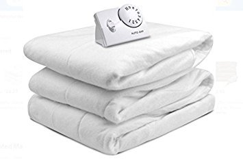 (Biddeford Automatic Electric Heated Mattress Fitted Pad, White (Full))