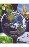 Biological Investigations : Lab Exercises for General Biology, Devine, Edward, 0757552986