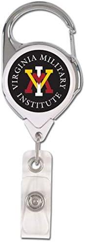 WinCraft Bundle 2 Items Virginia Military Institute VMI Keydets 1 Lanyard with Breakaway and 1 Premium Badge Reel