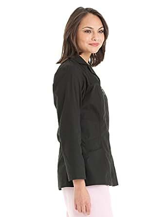 Amazon.com: Urbane Scrubs Women's Zip-up Lab Coat: Clothing