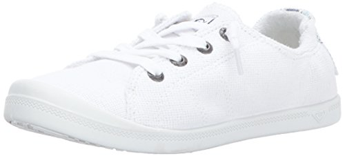 Roxy Women's Shoe Flat 9 M Sneaker, White, 9 M US by Roxy