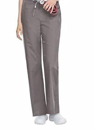 2537c4bb022 Amazon.com: Landau Scrub Zone 83222 Women's Grey Cargo Pant - XXX-Large:  Medical Scrubs Pants: Clothing