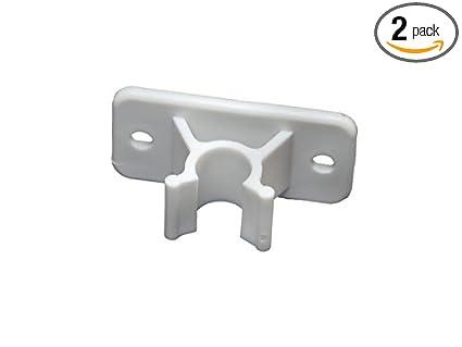 Amazon Rv Designer E242 Plastic Door Holder Clip Only White