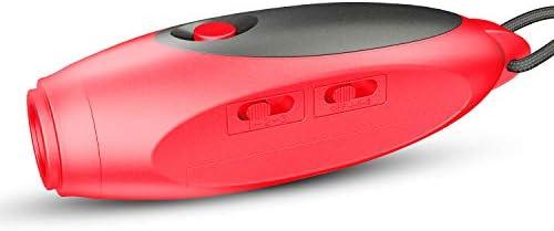 【3種類の音色と音量】電子ホイッスル Seebaby 単4電池3本付き カラー4種類 音量 音色変換可能 日本語取扱説明書