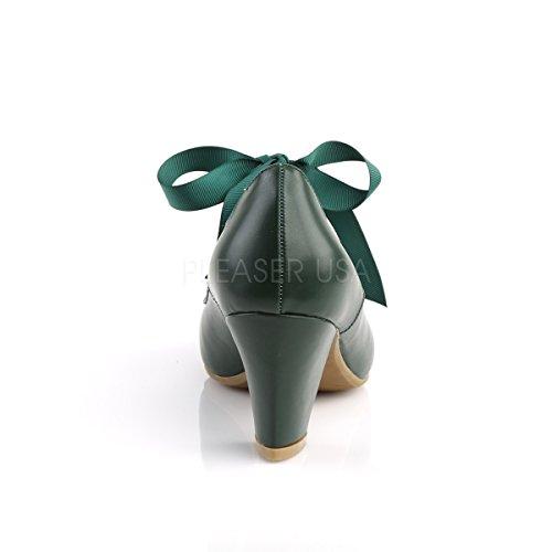 mit dunkelgrün Schleife PinUp Wiggle Mary Couture Damen 32 Pumps Janes qnnwzXH1
