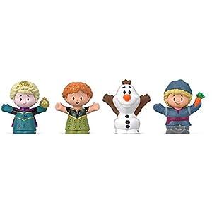 Disney Fisher-Price Frozen Elsa & Friends by Little People, Figure 4-Pack