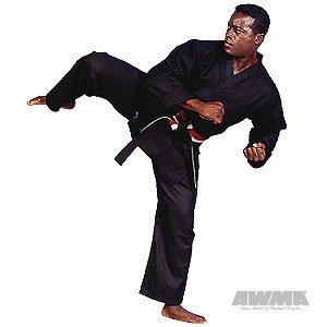 ProForce 10oz 100% Cotton Karate Gi / Uniform - Black - Size 5 10 Ounce Karate Uniform
