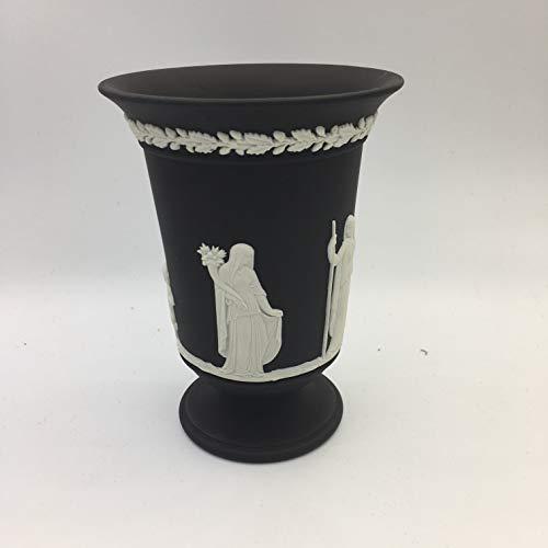 Wedgewood Black and White jasperware 5 1/2