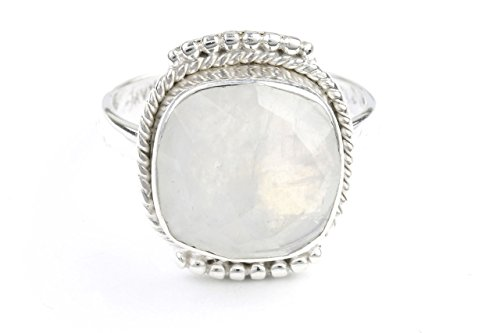 princess-moon-ring-sterling-silver-moonstone-ring-facet-cut-stone-jewelry-gemstone-boho-gypsy-wiccan