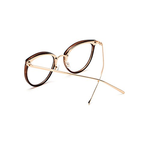 Retro Plain Glasses Frame Non-prescription Eyewear Round Vintage Goggles?Eyeglasses Spectacles Optical Frame with Clear Lenses for Men & Women from - For Spectacles Frame