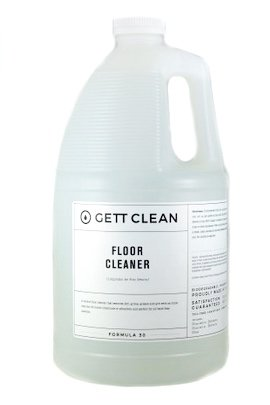 GETT CLEAN Floor Cleaner Concentrate, Neutral pH, 1 Gallon, Professional Strength, Lavender Scent, Multi Surface Cleaning and Mopping Liquid, No Rinse Required After Dilution, Makes 64 Gallons by GETT CLEAN (Image #1)