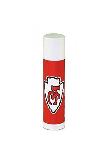 Kansas City Chiefs Lip Balm (chap stick) SPF 15-1 Lip Balm by Worthy - Malls Kansas City Shopping