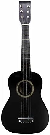 GAHO 23 Inch Basswood 12 Frets 6 String Acoustic GuitarPick and Strings for Beginners (Color : Black Size : 23 Inches) / GAHO 23 Inch Basswood 12 Frets 6 String Acoustic GuitarPick and Strings for Beginners (Color : Black Size : 23...