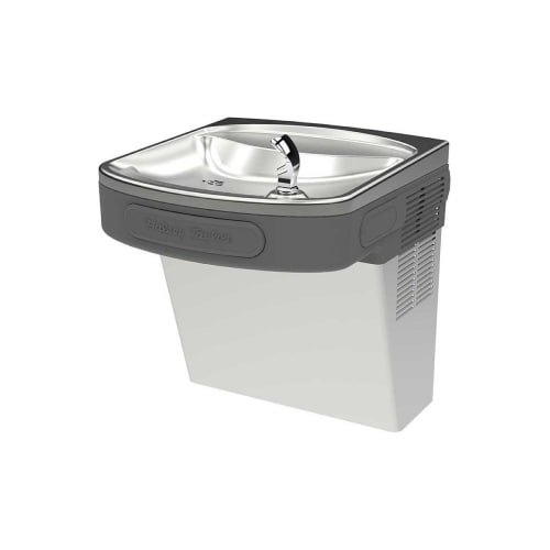 Halsey Taylor HTVZD-NF Wall Mounted ADA Indoor Rated Drinking Fountain, Platinum - Ada Drinking Fountains