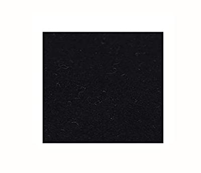 """sleeri BBQ Grill Mat, Grill Pad - Fire Pit Mat Pad Deck Protector, Fireproof, Heat Resistant, Fire Resistent - Deck Protection Patio Square Mat, Easy to Cut for Smoker, Fryer - Black, 39.37"""" x 39.37"""""""